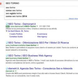ricerca seo torino